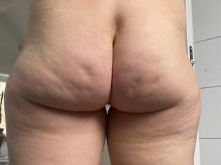 Ass cheeks.