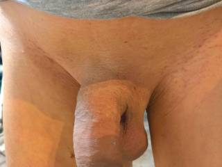 Shaved and silky smooth.