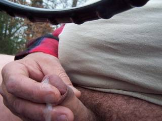 That load looks so fucking tasty!  Wish I could have been there to lick your fingers.