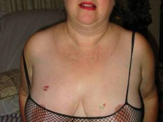 Look what these fishnets caught.   Want some ?