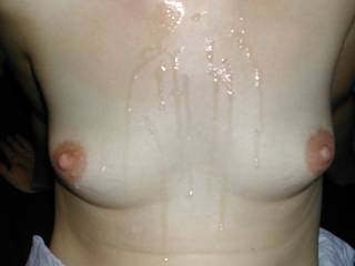 Cum soaked titties! Hooray!