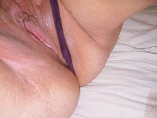 My mouth is watering just looking at your sweet pussy, I would love to taste it