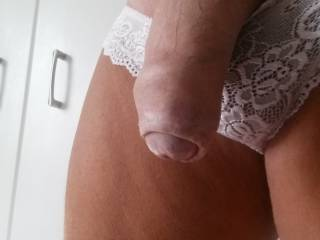 You look fabulous in them. Your cock is a real beauty