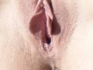 mmm....What a delightful pleasure that would be.  As you juices flow, I love to lick you dry, or just suck on your gorgeous pussy.