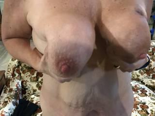 She loves her nipples sucked