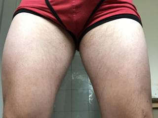 Leg work starting to pay off in the gym