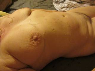 cum on tits after a good fuck