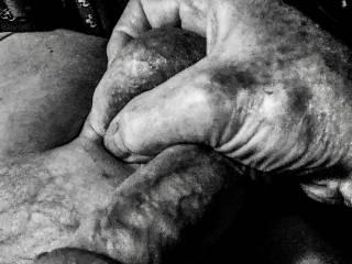 Masturbation in black and white. Do you like?