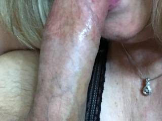 She gives great head!! And she's a swallower!
