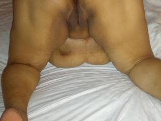 how I would love to lick them holes then ease my cock in that sweet fanny for some good sex fucking mmmm
