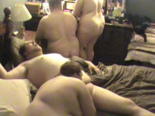 hubby geeting sucked by wifey then joined ny new friend :) so much fucking fun!