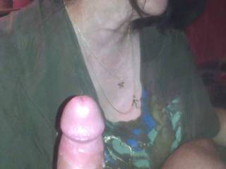 amateur wife sucking my cock. my wife loves giving blowjobs