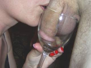 the Mrs loves a and a good cock so thought we\'d combine the two...what do you think?
