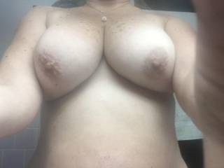 Squeeze and suck those titties