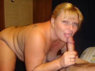 New friend has a nice big head on his cock hope hubby lets me fuck him a bunch of times