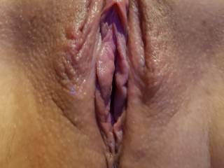 Nice and wet and waiting to squirt