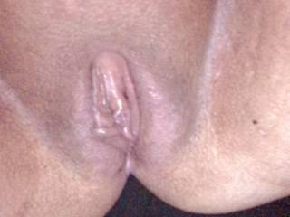 My wife's delicious pussy . Who wants to taste or fuck her ?  She would love a cum tribute