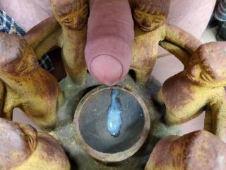 the cock worshippers got a small sample of what they were begging for.