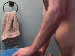 beaming my see through fuck toy till i pull out and nut all over it then stick my cock back in ;)