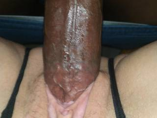 Going deep inside her hot sexy pussy