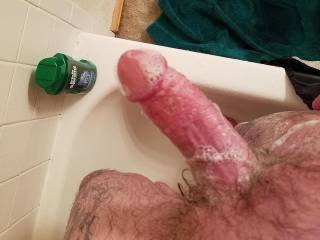 i don\'t think it\'s even possible to take a shower and NOT play with my cock.