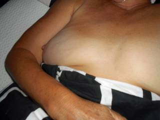 My Wifes BIG Tits and Nipples