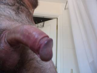 nice cock not too big like mine, may be mine is smaller and some women likes to laugh when they see my cock