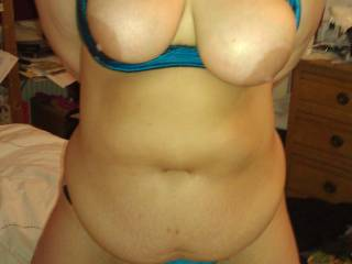 Wow! Amazing tits & a gorgeous body I'd love to fuck & see your sexy tits bounce!