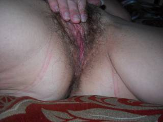 Rubbing on my pussy again. Hubby loves to watch me masturbate, do you?