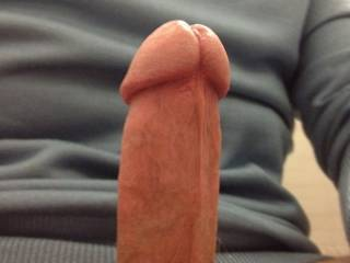 I just have to tell you that your cock is beautiful! To me it is the way I picture the perfect cock! Thanks for sharing!!!!