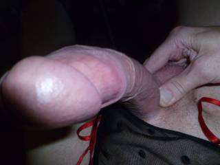 WOW I wish I was there stroking your hard cock !! love to feel you as you cum