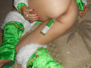 You truely have ine Fabulously Sexy Bum! ! And no! For me there is nothing Sexier  than a Naughty Elf!