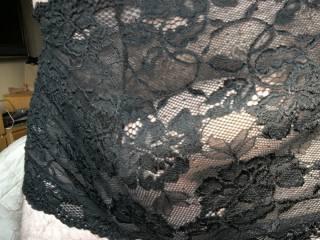 in black panties x