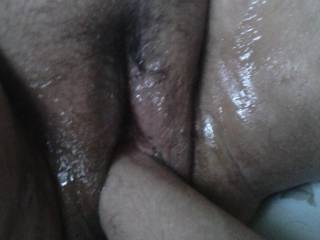 Fisting the wife she gets super wet and fucking it after is amazing I want to watch her be fisted by a woman or couple