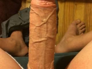 My huge dick what's good