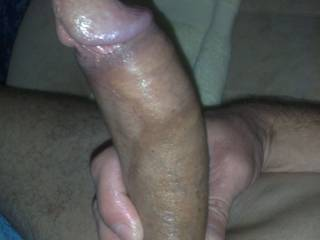 What a hot cock, I want to play, fondle, kiss, fuck and suck that big cock meat.  K
