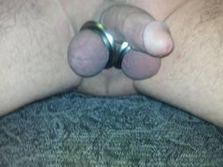Little ass with the new ball rings  Play with it?