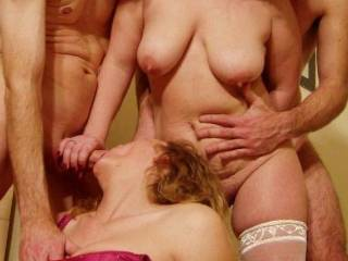 A recent foursome with our sexy friends!!! xxx