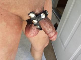 Nice! Try wrapping it around under you balls too.