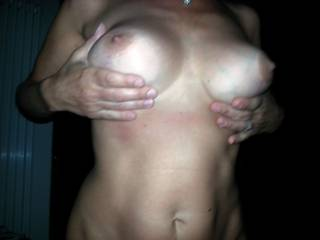 Lovely big, veiny, tits and nipples I'd love to suck