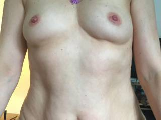 who want to suck my erect nipples ??