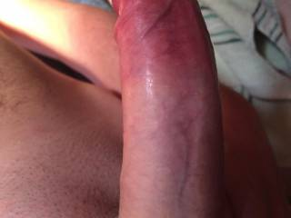 just shaved and ready to put it in a wet pussy