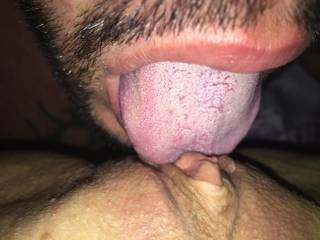 eating her sweet pussy