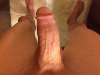 Being straight, I'm not a fan of dicks, however, I do think I have pretty nice looking cock! Ladies, would you suck it?