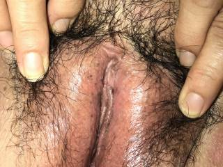My lovely wife's pussy let me know what you guys will do to her