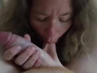 I sucked the soul from my friend. I put some slobber and tongue 👅 on his cock and balls. He and I both enjoyed getting together. I love me some cock.