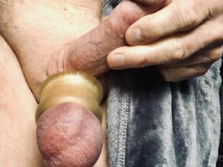 Tight balls, love to jerk my cock and feel them bounce.