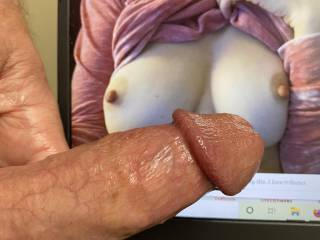 """This is for Tdm09 from Ohio. """"I was begging for cum on my tits. I love tributes."""""""