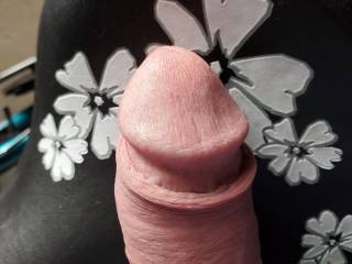 Just my tip with my 4skin back .I bet you could do that with your mouth.