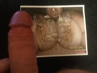 My tribute to brandy48ddandmik. I just love cumming on big tits
